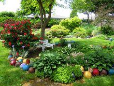 Beyond the gnome: New ideas for specialty garden decor - Modern Rustic Garden Decor, Rustic Gardens, Unique Gardens, Back Gardens, Beautiful Gardens, Fairy Gardens, Garden Decorations, Funny Garden Gnomes, Garden Design Ideas Videos
