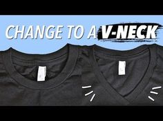 How to Make a V-Neck from a Regular Shirt, My Crafts and DIY Projects