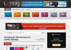 8 top InDesign resources: Layers; Vectortuts; Digital Tutors; Computer Arts; InDesign Secrets; Adobe; Lynda; Creative Bloq;