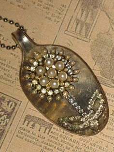 spoon pendant necklace@Lynne Kuhmerker