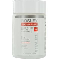 Bosley Healthy Hair Vitality Supplement for Women, 60 Count (3 pack) * More info could be found at the image url.