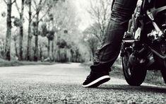 Essa foto fala por si própria, essa reta em cima de uma moto só quem anda sabe...