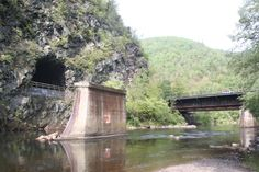 Old Abandoned Train Tunnel going to Jim Thorpe PA