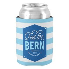 Feel the Bern Can Cooler