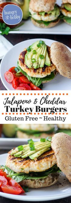 Jalapeno and cheddar turkey burgers are juicy, cheesy, and spicy favorites for your next grill night!   via @hungryhobby