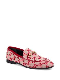 Gucci New Jordaan GG Tweed Check Loafers