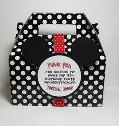 Items similar to Mickey Mouse Party Favor Box - Set of 15 on Etsy Mickey Mouse Party Favors, Fiesta Mickey Mouse, Mickey Mouse Bday, Theme Mickey, Mickey Mouse Clubhouse Birthday, Mickey Mouse Parties, Mickey Party, Mickey Mouse Birthday, 3rd Birthday Parties