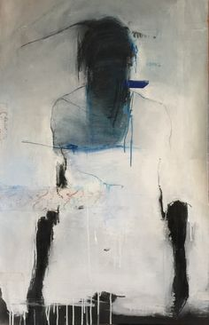 "bluecrowcafe: ""anitaleocadia: ""Harry Paul Ally  - mixed media on paper "" Harry Ally, one of my major painting crushes"