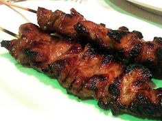 Grilled Chinese Five Spice Pork Skewers-I am so making this tonight with some cilantro jasmine rice.