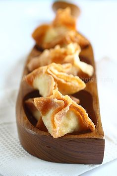Crab Rangoon. This is so easy to make you don't have to go to Chinese buffet or restaurants to get your fix!