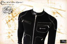 Biker Blouson CHRONOWEAR ROLEX DAYTONA 16520 / 116520 - Black  - infos: info@chronowear.it
