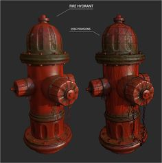 Fire hydrant, Malte Sturm on ArtStation at http://www.artstation.com/artwork/fire-hydrant-0f75a5d4-bfdf-46cb-9dfd-bd107eaeee20