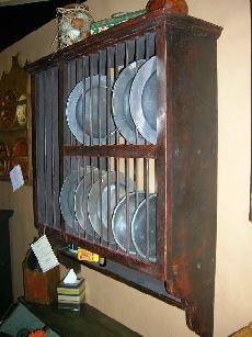 Farm House Plate Rack ~