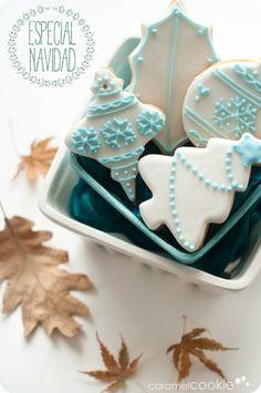 galletas decoradas navidad_caramel cookie