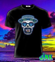 Playera o Camiseta Heisenb Skull -Jinx