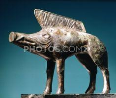 Bronze Boar Artifact Of Celtic Art