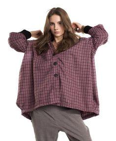 Pepitka Coat w Cahlo na DaWanda.com