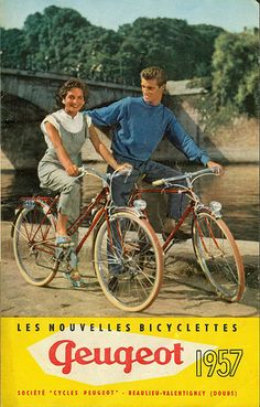this will be us on our honeymoon : ) --> poster ad bike