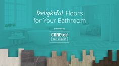 Bathroom Decor videos Go from dreaming to designing with COREtec Plymouth Oak. Vinyl Wood Flooring, Luxury Vinyl Flooring, Wood Vinyl, Luxury Vinyl Plank, Stone Flooring, Altar, Bathroom Organisation, Bathroom Ideas, Round Sink