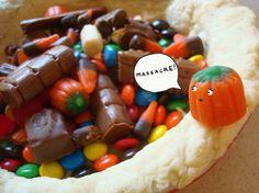 Leftover Halloween Candy Pie Recipe on Yummly. @yummly #recipe