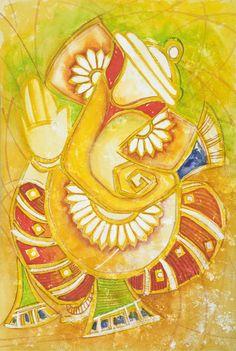 PurnimaArt: Ganesh Paintings