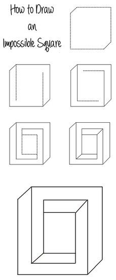 Optical Illusions   Smore Newsletters Simple Optical Illusions, Optical Illusions Drawings, Optical Illusion Tattoo, Funny Illusions, Illusion Drawings, Cool Illusions, Art Optical, 3d Illusion Art, Illusions Mind