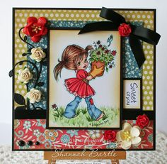 Embellished ExpresShan's: Whimsy Stamps and Digi Bell Inspiration!
