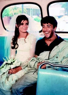 Katharine Ross & Dustin Hoffman in The Graduate (1967). I ❤this film!