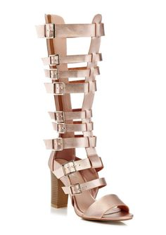 f23e955de4922 Gorgeous Rose Gold Gladiator sandal- Shop now on www.gotthelook.com !