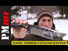 Dark Timber Custom Knives: Grizzly-Hawk System PART 1   - Preparedmind101