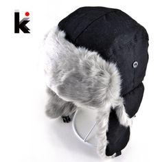 d91e686b4bc K s Winter Snow Cap Bomber Hat Hats Online