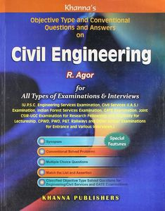 Civil Engineering: Objective Type and Conventional Questions and Answers Civil Engineering Books, Transportation Engineering, Geotechnical Engineering, Question Paper, Question And Answer, This Or That Questions, Concrete Mix Design, Genius Movie, How To Pass Exams