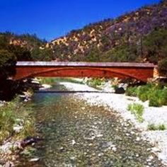 Longest covered bridge in the US-- Bridgeport, Yuba River near Grass Valley CA