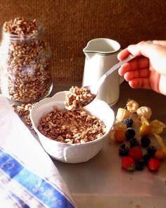 Homemade healthy choco crisps ! gluten free and totally kids friendly @ mytinygreenkitchen.com