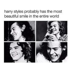 Not probably.. ACTUALLY has the most beautiful smile in the entire world ☝