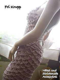 beautiful but best if half of the dress is in crocodile stitches for curvier bodies