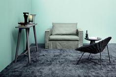Gervasoni, project by Paola Navone: Brick 11 sofa bed.