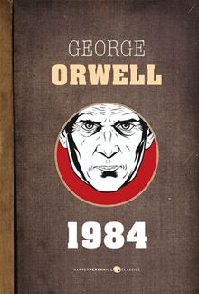 by George Orwell. Have yet to read it. It is 1984 (the future). The world is in a state of perpetual war and Big Brother sees and controls all. I must say, I don't like this modern serial cover George Orwell 1984 Book, George Orwell Quotes, I Love Books, Books To Read, My Books, Police Quotes, Quotes From Novels, Book Authors, So Little Time