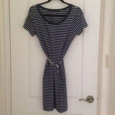 Joe Fresh Tee Dress! Navy to the knee scoop neck great to wear many ways dress. Joe Fresh Dresses