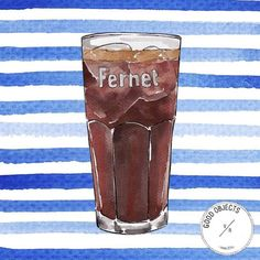 Good objects - Where are the fernet lovers??? #fernet #tgif #goodobjects #illustration