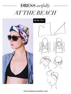 // dress artfully at the beach //