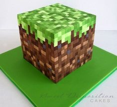 Holy meticulously placed fondant squares.  (Cake Wrecks - Home - Sunday Sweets: Boredom Busters)