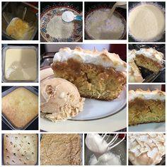 🍰RECEITA BOLO TRUFA DE DOCE DE LEITE! INGREDIENTES: ❣3 Ovos ❣3/4 de Xícara de açúcar cristal ou refinado ❣1/4 de Xícara de óleo ❣1/2 Xícara de leite ❣1.1/2 de farinha de trigo ❣1 Colher de sopa de fermento químico ❣1 lata de leite condensado cozido ou doce de leite normal INGREDIENTES PARA O MERENGUE ❣3 Claras ❣1/2 Xícara de açúcar refinado ou cristal ▪️MODO DE PREPARO DA MASSA: 👉🏼No liquidificador coloque os ovos, açúcar, óleo e leite. Bata por 2 minutos. 👉🏼Num recipiente coloque a…