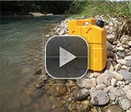 Lifesaver Jerrycans.  Filters out bacteria, viruses, cysts and all waterborne pathogens from your water.  Useful, duh.