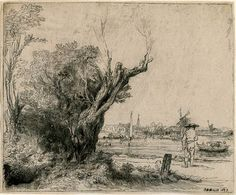 The Omval | Rembrandt Prints Online | The Morgan Library & Museum