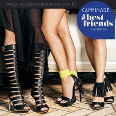 Onde quer que você vá...  Vá com Camminare! ❤️  #camminare #shoes #love #itgirls #bestfriends #winter #moda #tendência #antenadas