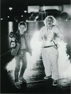 Back to the Future - love these movies!