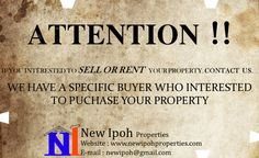 We are property agent base in Ipoh Perak (Malaysia).   ipoh property market, ipoh house for sale ipoh shop for sale ipoh property ipoh shops for sale property market perak house for sale ipoh properties for sale