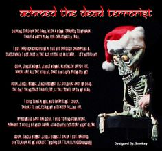 """Achmed the Dead Terrorist, """"Jingle Bombs"""" ~ Jeff Dunham is the ONLY funny comedian I've ever seen!"""
