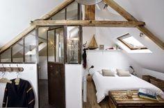 "[Interior] Buhardilla de 32 m² en industrial ""Chic & Charme"" – Virlova Style"